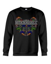 motocross - motocrossaholic Crewneck Sweatshirt thumbnail
