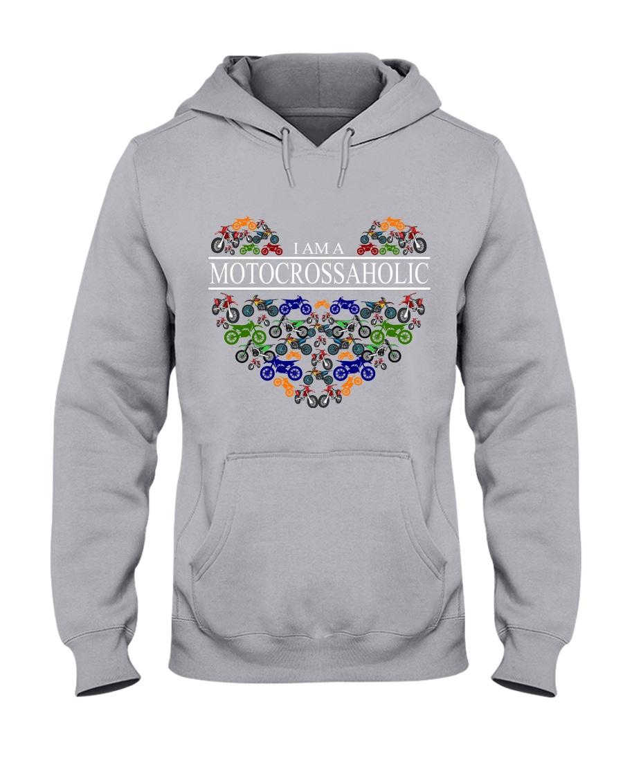 motocross - motocrossaholic Hooded Sweatshirt
