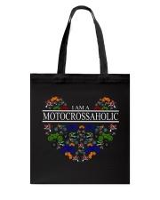 motocross - motocrossaholic Tote Bag thumbnail