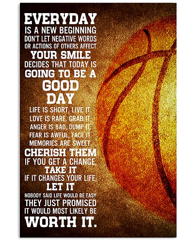 Basketball Everyday Is A New Beginning