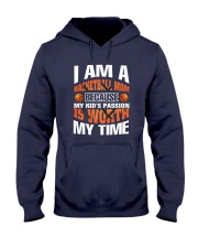 I AM A BASKETBALL MOM Hooded Sweatshirt thumbnail