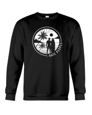 Surfing Men Hate People Crewneck Sweatshirt thumbnail