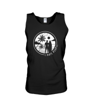 Surfing Men Hate People Unisex Tank thumbnail