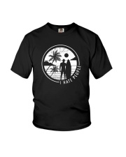 Surfing Men Hate People Youth T-Shirt thumbnail
