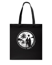 Surfing Men Hate People Tote Bag thumbnail
