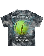 Softball I Am The Storm All-over T-Shirt thumbnail