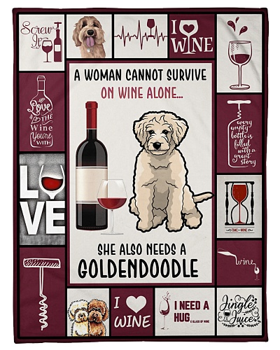 Wine Funny A Woman Cannot Survive Graphic Design