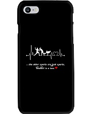 Baseball is a love Phone Case thumbnail