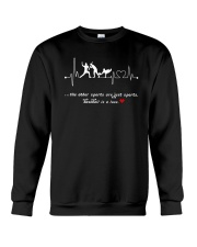 Baseball is a love Crewneck Sweatshirt tile