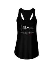Baseball is a love Ladies Flowy Tank tile