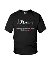 Baseball is a love Youth T-Shirt thumbnail