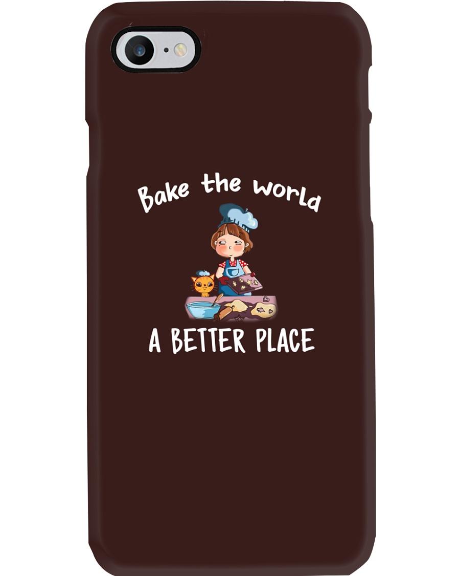 bake the world Phone Case