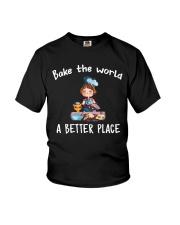bake the world Youth T-Shirt thumbnail