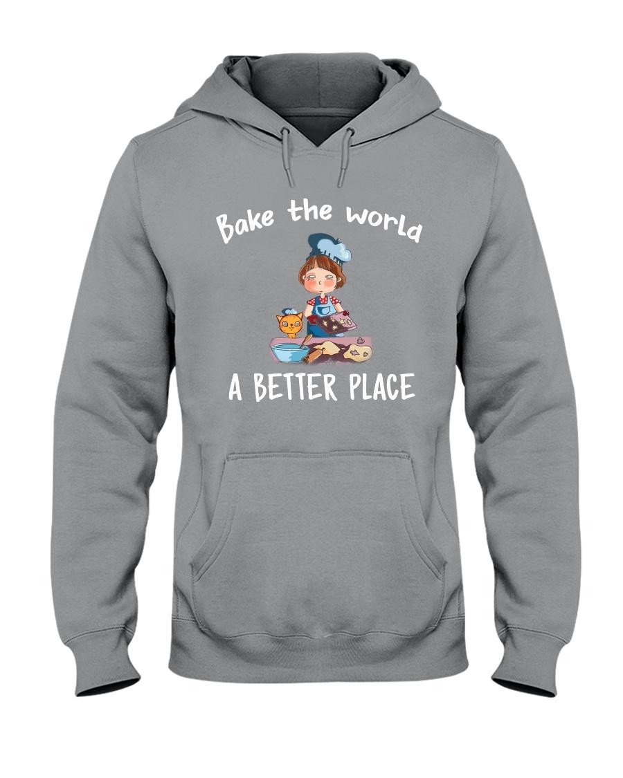 bake the world Hooded Sweatshirt