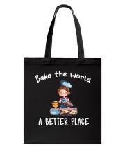 bake the world Tote Bag thumbnail
