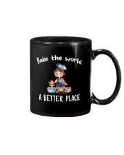 bake the world Mug thumbnail
