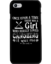A Girl Loves Canoeing Phone Case thumbnail