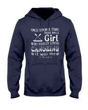 A Girl Loves Canoeing Hooded Sweatshirt thumbnail