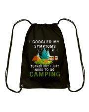 Need to go camping Drawstring Bag thumbnail