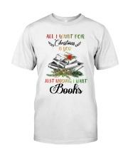 I Want Books Classic T-Shirt thumbnail
