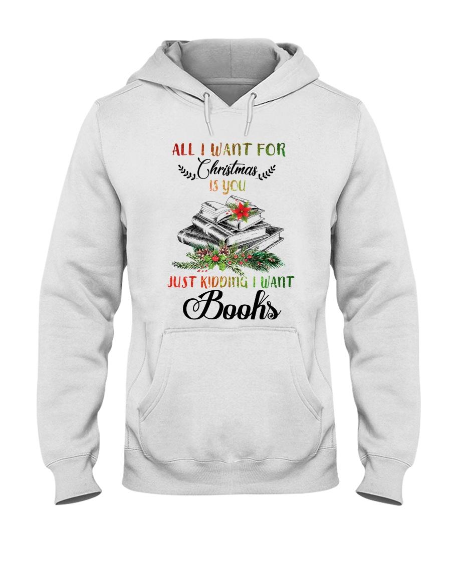 I Want Books Hooded Sweatshirt