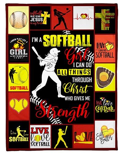 Softball Funny I'm A Softball Girl Graphic Design