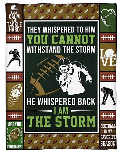Football They Whispered To Him Graphic Design