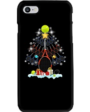 Tennis Christmas Tree Phone Case tile