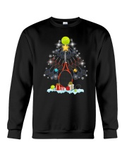 Tennis Christmas Tree Crewneck Sweatshirt tile
