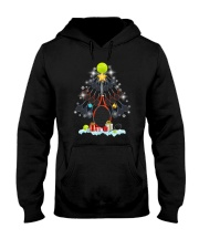 Tennis Christmas Tree Hooded Sweatshirt thumbnail