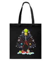 Tennis Christmas Tree Tote Bag thumbnail