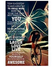Cycle Today Is Good Day 11x17 Poster front