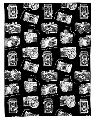Photography Funny Blanket Pattern Graphic Design