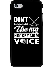 Don't Make Me Use My Hockey Mom Voice Phone Case thumbnail