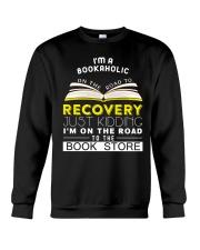 I'm a bookaholic Crewneck Sweatshirt thumbnail
