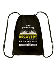 I'm a bookaholic Drawstring Bag thumbnail