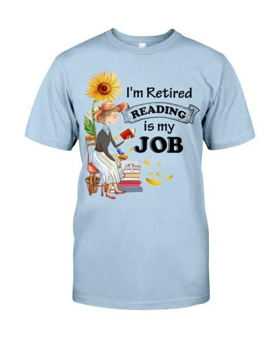 Books I'm Retired Reading Is My Job