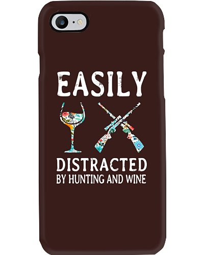 Easily Distracted By Hunting And Wine