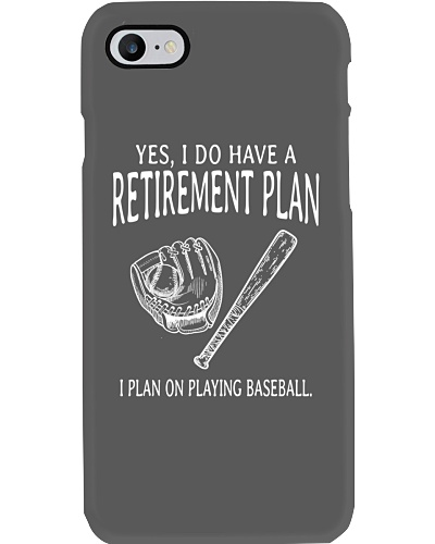 I Plan On Playing Baseball