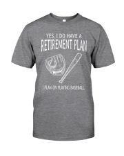I Plan On Playing Baseball Classic T-Shirt thumbnail