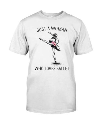 A Woman Loves Ballet