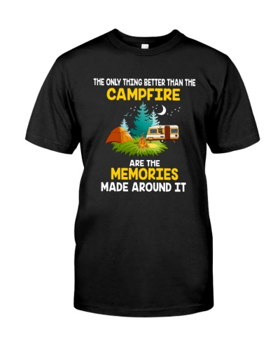 Campfire are the memories made around it