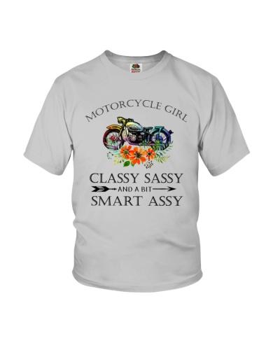Motorcycle Girl Classy Sassy