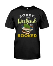 All My Weekend is Book Classic T-Shirt thumbnail