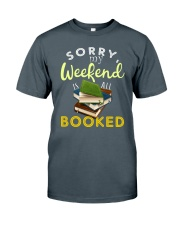 All My Weekend is Book Classic T-Shirt front