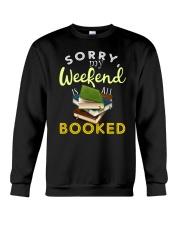 All My Weekend is Book Crewneck Sweatshirt thumbnail