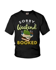 All My Weekend is Book Youth T-Shirt thumbnail