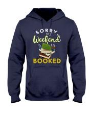 All My Weekend is Book Hooded Sweatshirt thumbnail
