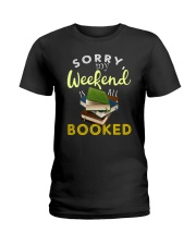 All My Weekend is Book Ladies T-Shirt thumbnail