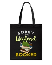 All My Weekend is Book Tote Bag thumbnail